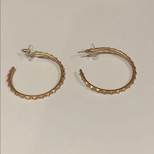 Kendra Scott Veronica Hoop earrings in rose gold